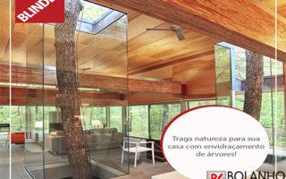 Caixa de Vidro Temperado -Envidraçamento de Árvore