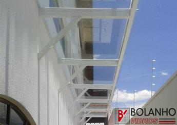 Cobertura de Vidro Blindex Mogi das Cruzes SP